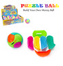 Rainbow PUZZLE BALL Money Box Spherical Ball Shaped Cube Puzzle Toy Kids Gifts