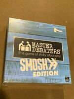 Master Debaters SMOSH Edition Family Board Game of Sticky Situations 2017 NEW MI