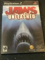 Jaws Unleashed Ps2 Complete Tested Working CIB Sony PlayStation 2 2006
