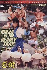 Ninja In The Deadly Trap--Hong Kong RARE Kung Fu Martial Arts Action movie - NEW