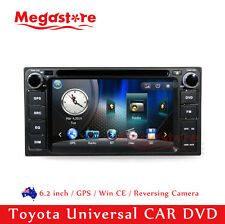 "6.2"" GPS Nav Car Radio DVD Player For Toyota universal"