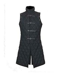 Thick-padded-coat-Aketon-vest-Jacket-Armor-Halloween-Gift Medieval-Gambeson