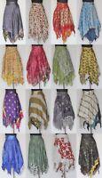 Women Swimwear Bikini Cover Up Beach Sarong Dress Sari Boho Wrap Skirt Silk