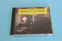 "CD VLADIMIR HOROWITZ ""HOROWITZ AT HOME"" PIANO / DEUTSCHE GRAMMOPHON 1989 TB ETAT"