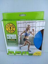 GOLD's Gym Power Glide DISCHI Core Gamba Braccio Allenamento completo dispositivo di scorrimento Fitness con DVD