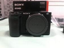 Sony Alpha a6400 Mirrorless Digital Camera (Body Only) W/ 183 Shutter Count
