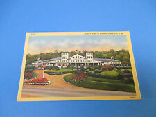 Summit Hotel On National Hwy.Uniontown,Pa Vintage Colorful Postcard PC19