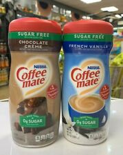 Coffee-Mate Sugar Free Chocolate Creme & French Vanilla Creamer