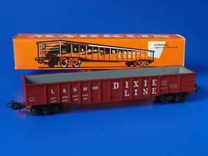 MARKLIN H0 - 4575 - USA Open Gondola car DIXIE LINE (91)/ BOX - VG