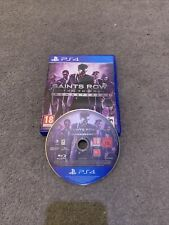 PS4 Playstation 4 Saints Row el tercer Remasterizado