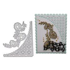 Flowers Lace Metal Cutting Dies Scrapbooking Embossing Craft Wedding Xmas New
