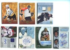 2008 Upper Deck Trilogy Ice Scripts #IS-JH Josh Harding Minnesota Wild Auto