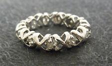 *Designer Memory Ring* mit 11 Diamanten zus. 0,5 ct. - 585 Weißgold  - TOP