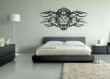 Wall Sticker Mural Decal Vinyl Decor Black Skull With Tracery Interesting Design
