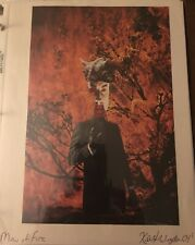 Rare Original Surreal Outsider Photomontage Art Man of Fire Year 2004 Original