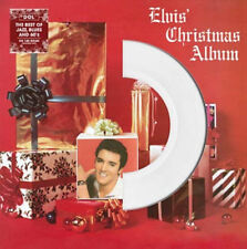 Elvis Presley ‎Elvis' Christmas Album White Coloured Vinyl LP New 2013