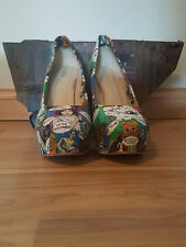 Womens Star Wars Themed - High Heels Platform Stiletto - Size 10 - We're Doomed