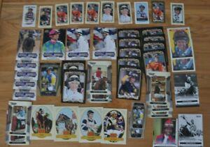 48 Card Lot- Horse racing, horses, jockeys- Goodwin, Upper Deck, etc