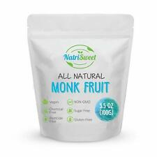 NatriSweet Monk Fruit Extract 3.5oz (100g), Sugar Alternative, Perfect for Keto