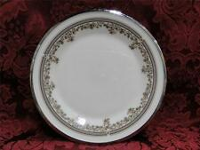 Lenox Lace Point, Gray and Pink, Platinum: Bread Plate (s) 6 3/8""
