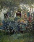 Abbott Fuller Graves Kennebunkport Doorway Handmade Oil Painting repro