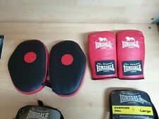 Lonsdale Hook And Jab Pads + Exercise mitts LARGE- BOTH UNUSED