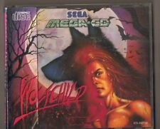 SEGA MEGA CD WOLFCHILD, SPINE CARD FRONT BACK COVERS CASE ONLY NO DISC OR MANUAL