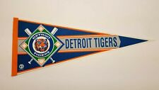 Detroit Tigers Vintage 1990's MLB Pennant Baseball