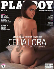 Mexican Magazine Playboy Celia Lora July 2017 Mexico Spanish Sexy Cover#1 Sealed