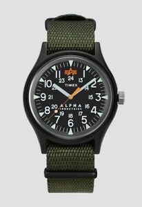 TIMEX x ALPHA INDUSTRIES - MILITARY STYLE WATCH