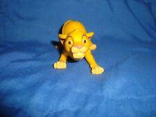 "Lion King Simba McDonalds PVC 1.5"" tall x 2.5"" long"