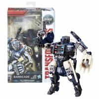 New Transformers Premier Edition Barricade Deluxe Figure Last Knight Official