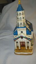 Lefton Colonial Christmas Village 2601/5000 MOUNT ZION CHURCH 1994 C2