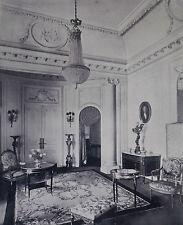 Louis XVI Salon Waring & Gillow 1912 Advertisement Ad 8180