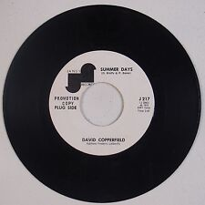 DAVID COPPERFIELD: Summer Days / Me and My Leslie JANUS US DJ Promo 45