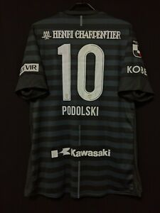 2019 Vissel Kobe 3rd J.League Jersey Soccer Shirt 4XL(Japan Size) PODOLSKI