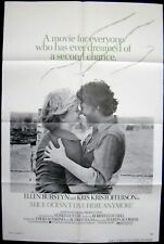 ALICE DOESN'T LIVE HERE ANYMORE 27X41 FOLDED MOVIE POSTER 1975 MARTIN SCORSESE