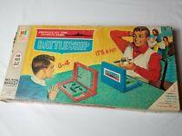 1967 Battleship Game Milton Bradley Board Game *VINTAGE*