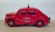 Eligor 1955 Renault 4 CV Secours Pompiers Rochelle 1:43 Scale Model Fire Chief