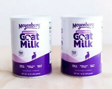 (2 Cans) Meyenberg Whole Powdered Goat Milk 16 oz Gluten Free Exp 3/2024