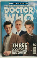 TITAN Free Comic Book Day DOCTOR WHO 01 Three Doctors Adventures JUNE 2015