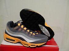 Nike Air Max 95 No Sew Dark Grey/Orange men's Running shoes size 10