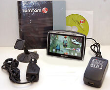 "TomTom GO 730 Car Portable GPS Navigator Unit 4.3"" LCD tom set system TTS IQ -C"