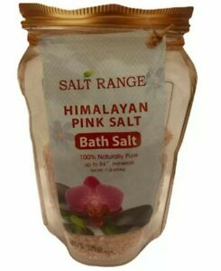 BATH SALTS Himalayan Pink 1lb 💯% Natural Pure Made In The USA 11$ 👍😉
