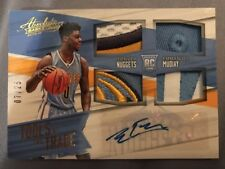 Emmanuel Mudiay 2015-16 Absolute RC AUTO Quad  Patch Tools of the Trade 7/25