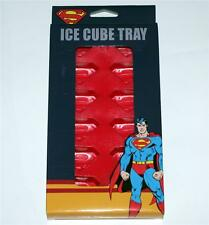 SUPERMAN DC Comics Superhero MAN OF STEEL Silicone Plastic ICE CUBE TRAY New