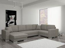 Couch Couchgarnitur Sofa Polsterecke MC Wohnlandschaft Schlaffunktion Federkern