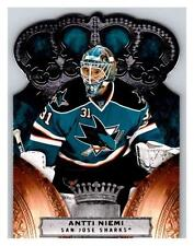 (HCW) 2010-11 Panini Crown Royale #82 Antti Niemi NM-MT Sharks