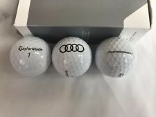 New Genuine Taylormade Audi Collection Golf Balls - Tour Preferred X - 3 pack