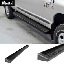 "6"" Black iBoard Running Boards Fit 09-18 Dodge Ram 1500/2500/3500 Crew Cab"
